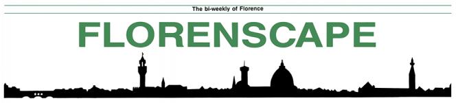 Florence city newspaper Florenscape